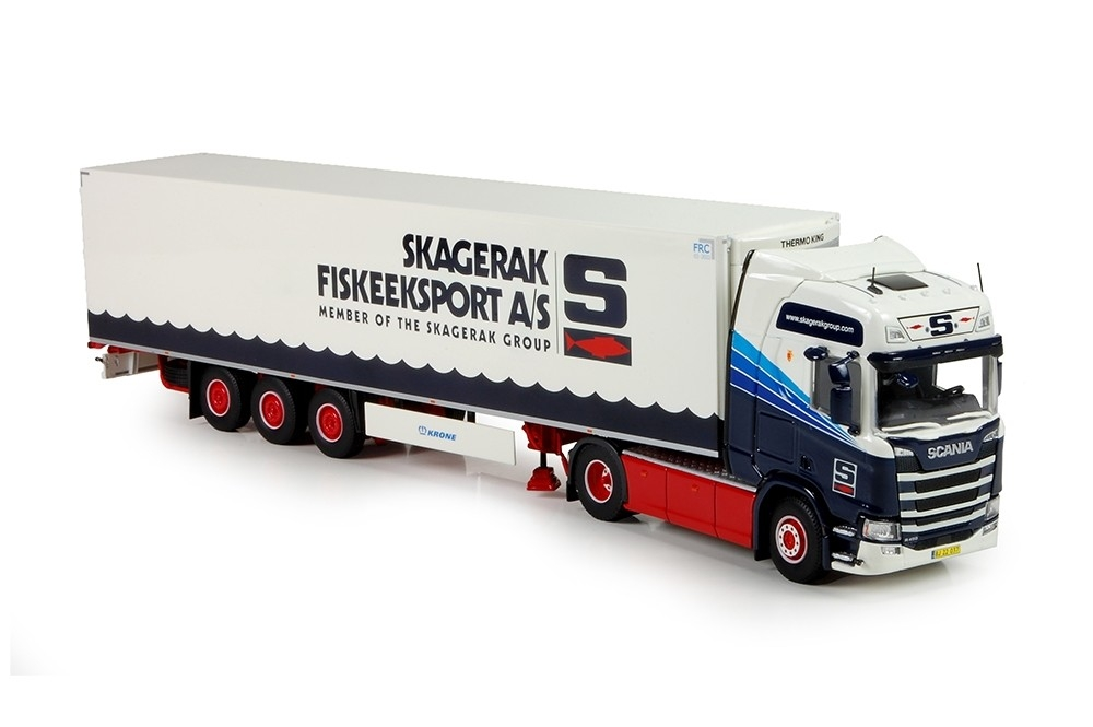 Scania R serie Next Gen. Highline  Skagerak