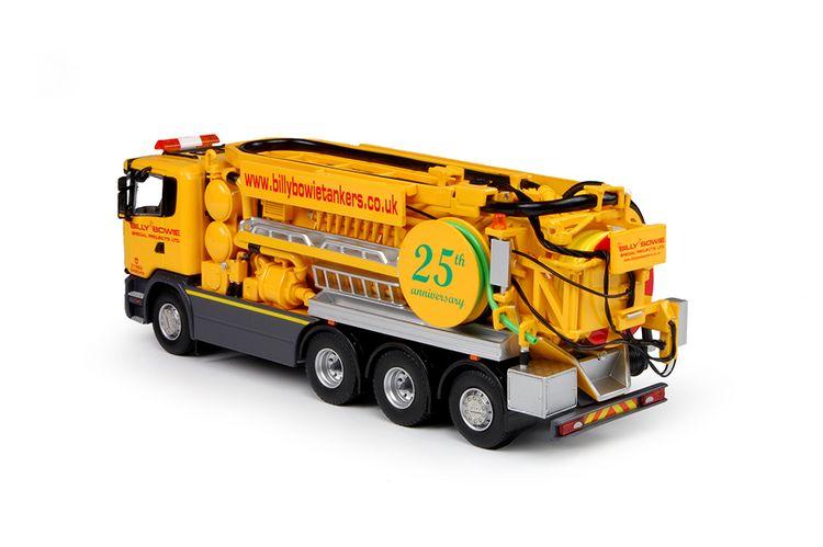 Scania R Serie Saugwagen Bowie Billy