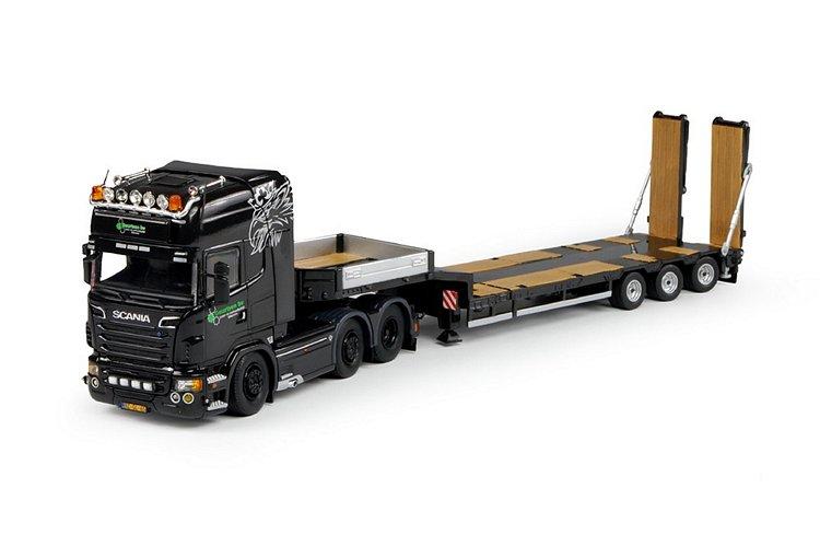 Scania R-serie semi-Tieflader Geurtsen