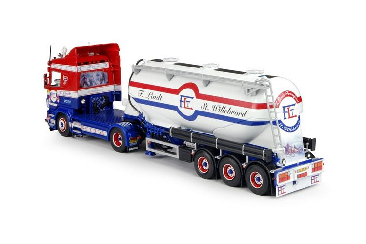 Scania R Serie Siloauflieger Lindt F