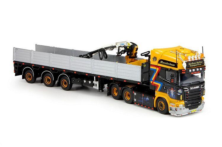 Scania R-serie  steinen auflieger Buiter Gerben