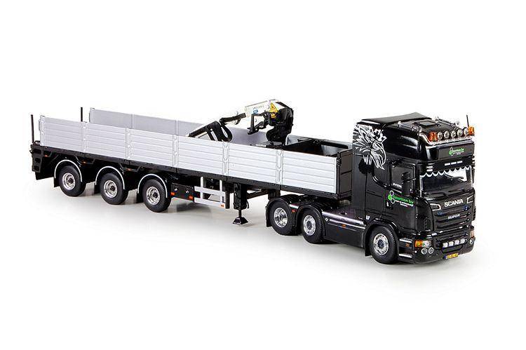 Scania R-serie  Steinen auflieger Geurtsen
