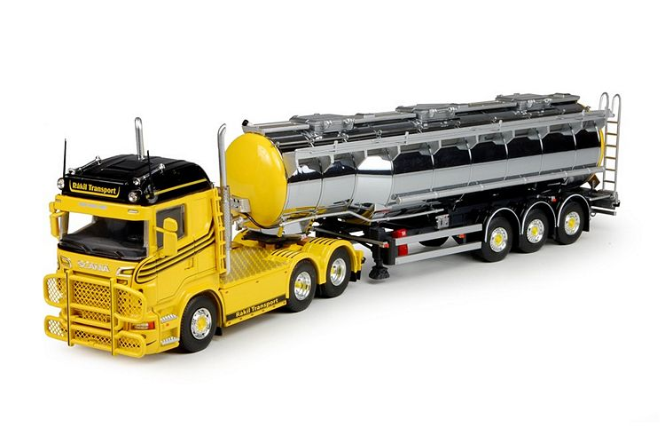 Scania R-serie Tank auflieger Råkil Transport