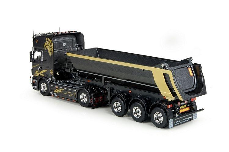 Scania R-serie Topline  3 Achse Tipper Bovecchi