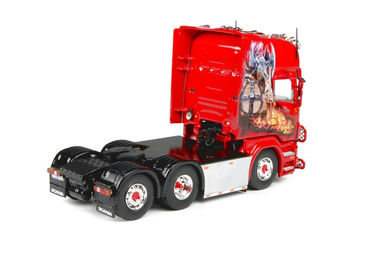 Scania R-serie Topline 6x2 Lindhagen