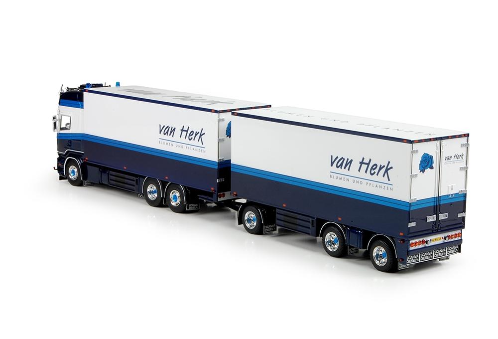 Scania R serie Topline Blumen en Pflanzen Van Herk