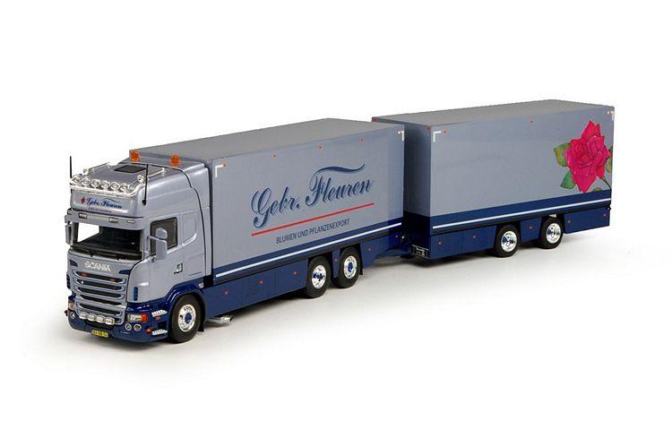 Scania R-serie Topline combi  Fleuren Gebr.
