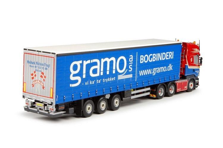 Scania R-Serie Topline  Curtainsider  Nielsen Fragt M