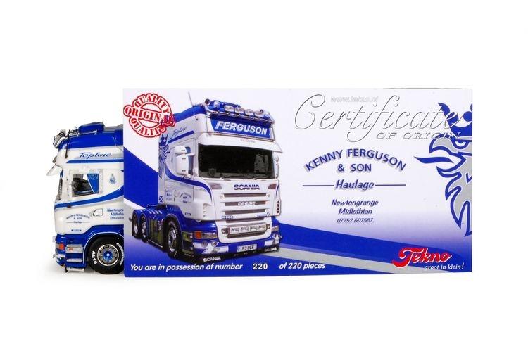 Scania R serie Topline Ferguson