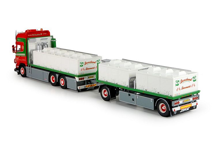Scania R serie Topline  Fischtransport Donslund