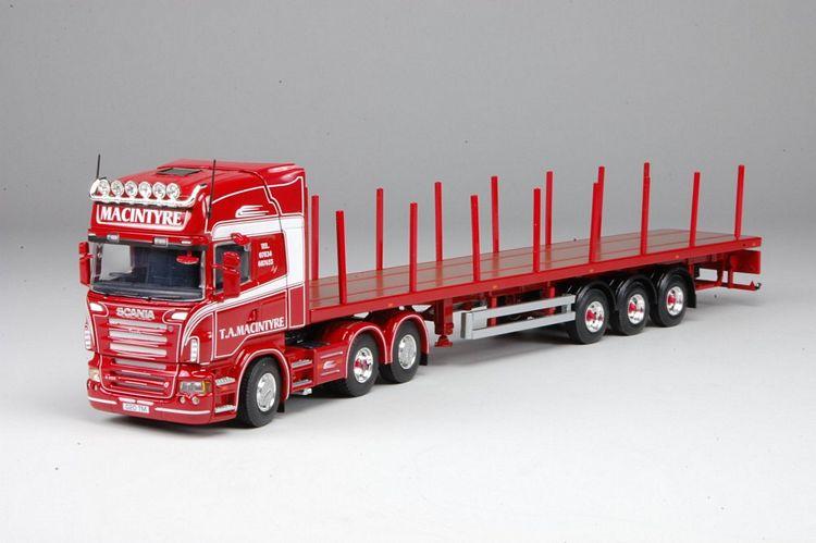 Scania R serie Topline Flatbed Macintyre