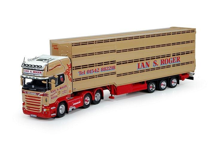 Scania R serie Topline Herde Auflieger Roger Ian S