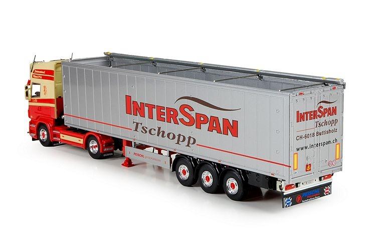 Scania R serie Topline  Interspan Tschopp