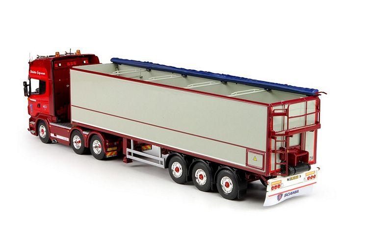 Scania R-serie Topline Kartoffeln Auflieger Transoord