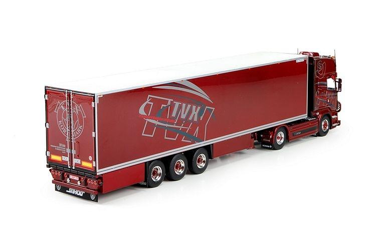 Scania R serie Topline Kuehlauflieger TVX