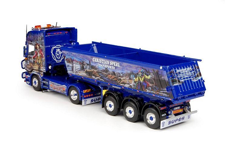 Scania R Serie Topline  Meiller kipper 3 achse Sperl Christian