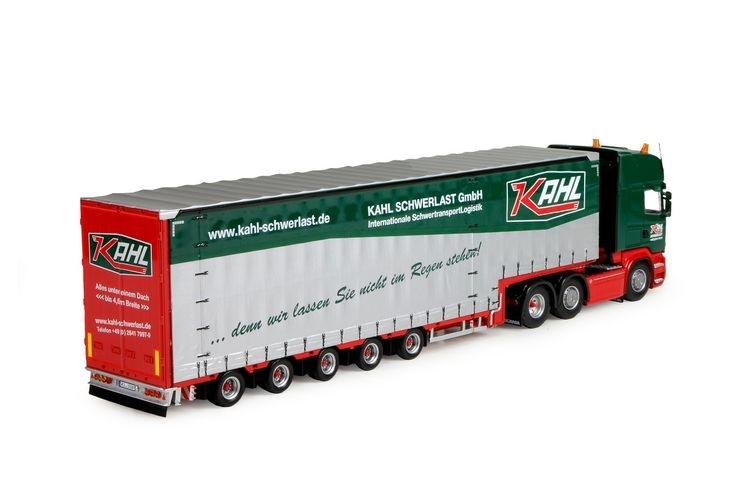 Scania R serie Topline Meusburger Auflieger Kahl