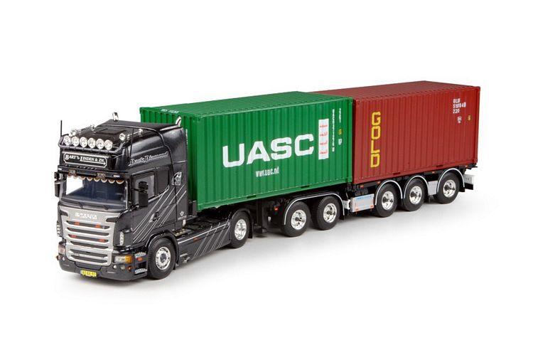 Scania R-serie Topline mit D-Tec combi Bart van der Linden