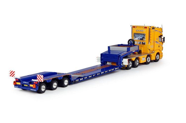 Scania R-Serie Topline mit Goldhofer Tieflader ETEC