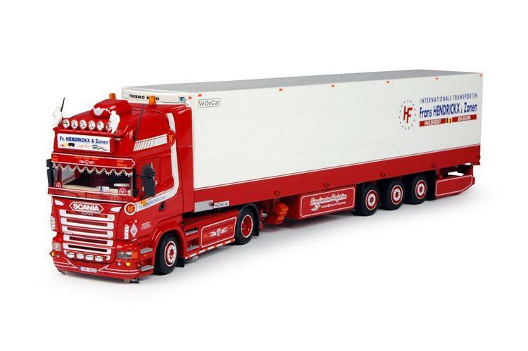 Scania R Serie Topline mit Kühlauflieger Hendrickx Frans