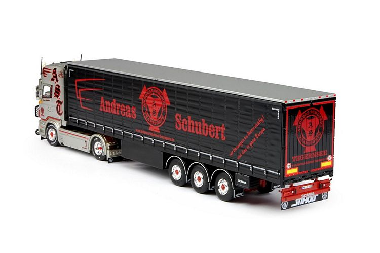 Scania R-serie Topline Schiebeplanen Schubert