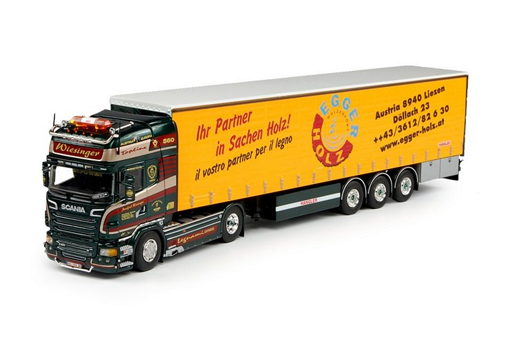 Scania R-serie Topline Schiebeplanen Wiesinger