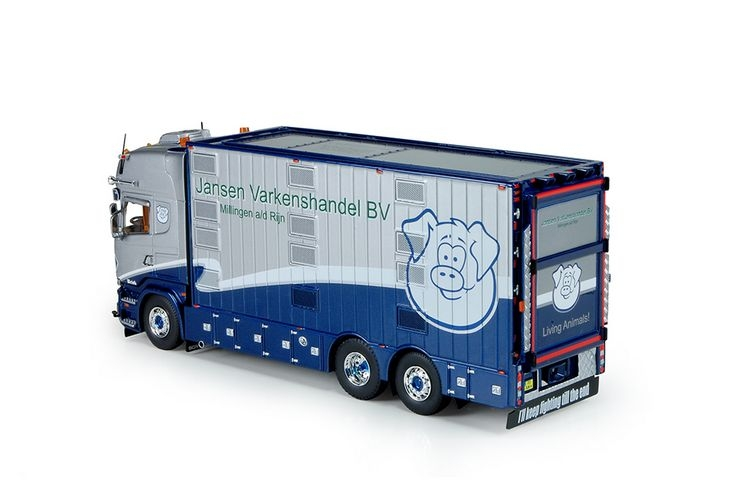 Scania R Stramline Topline Kombi Jansen Varkenshandel