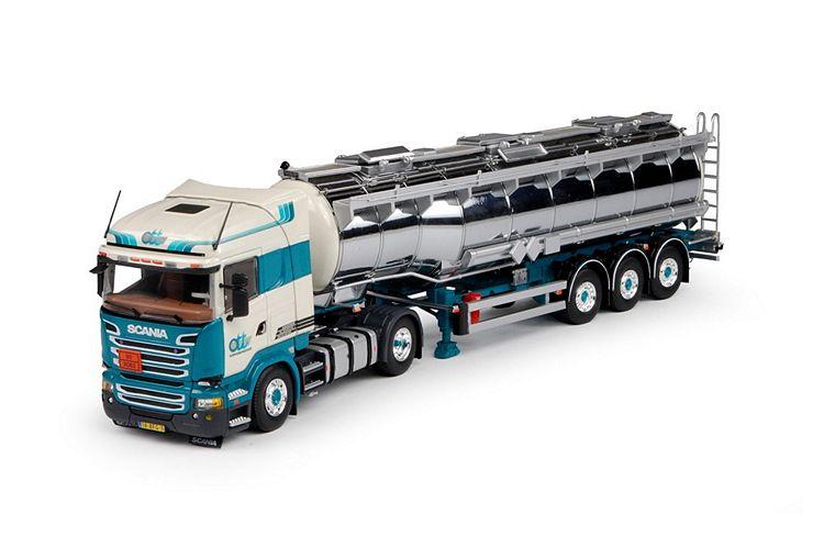 Scania R-Streamline Gans tankauflieger Ouden den