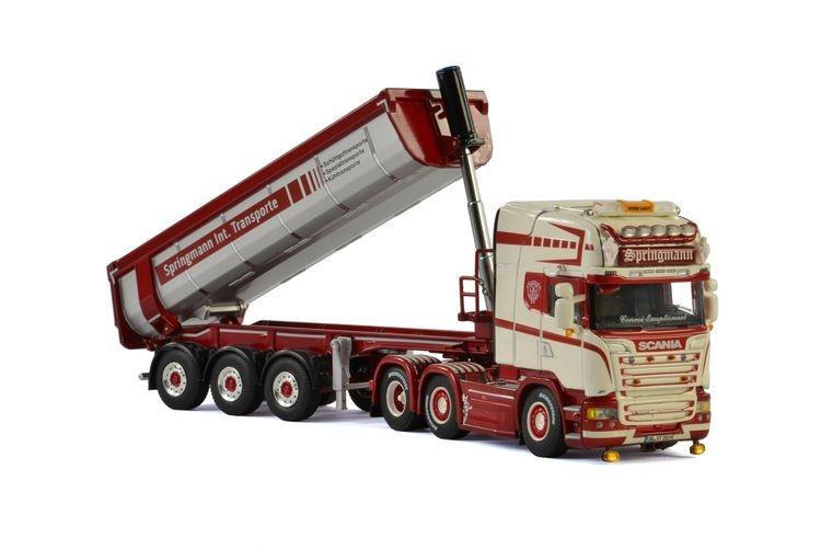 Scania R Streamline Halfpipe Tipper Springmann