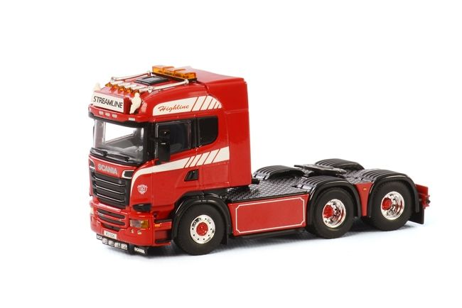 Scania R Streamline Highline red
