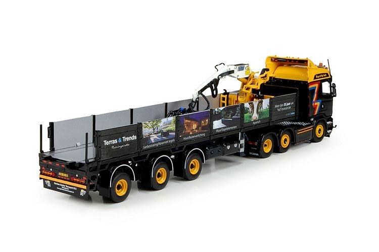 Scania R Streamline Highline Steinauflieger Buiter