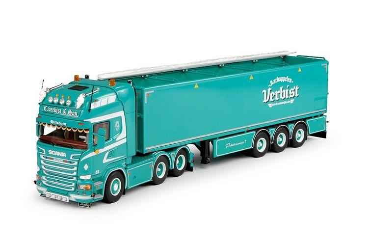 Scania R-Streamline Kartoffeln Auflieger Verbist