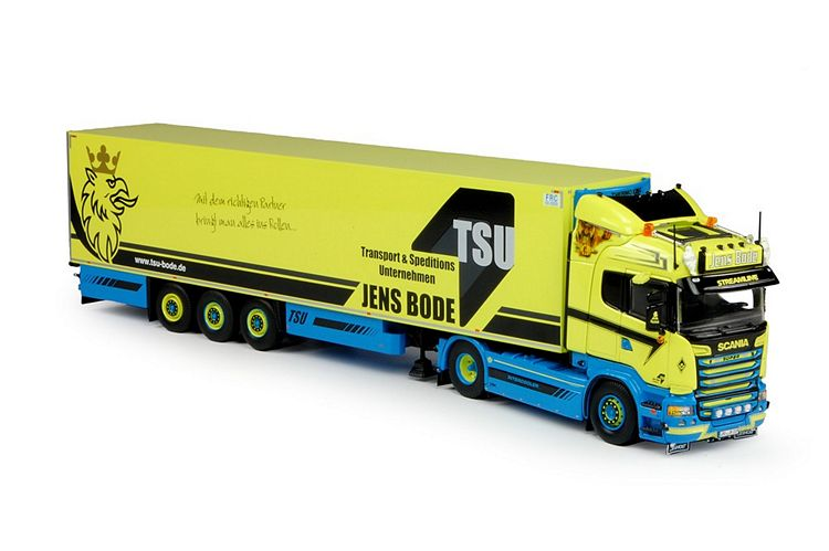 Scania R-Streamline  Kühlauflieger Bode Jens