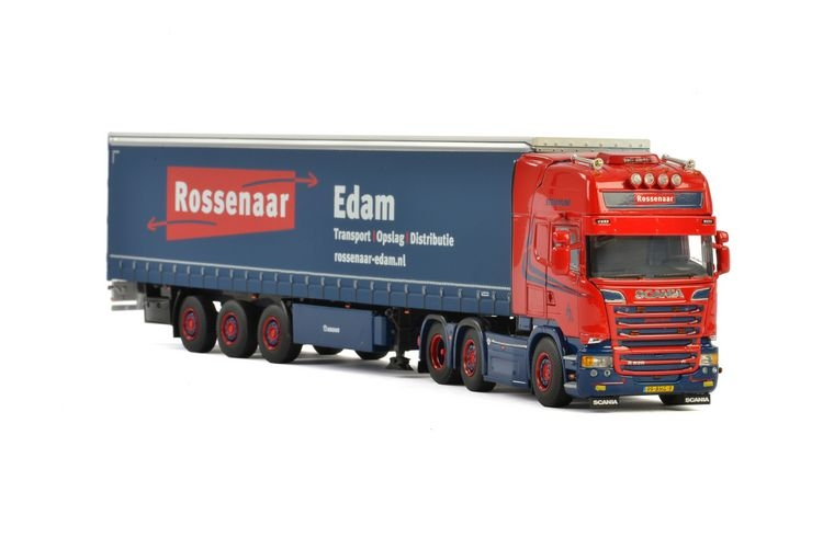 Scania R Streamline  Planenauflieger  Rossenaar Edam
