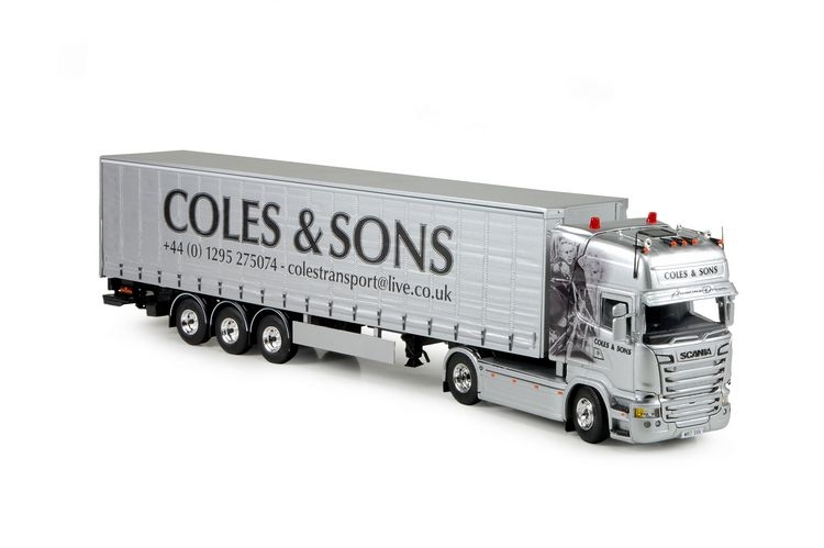 Scania R Streamline Schiebeplanen Coles & son Ameican Dream