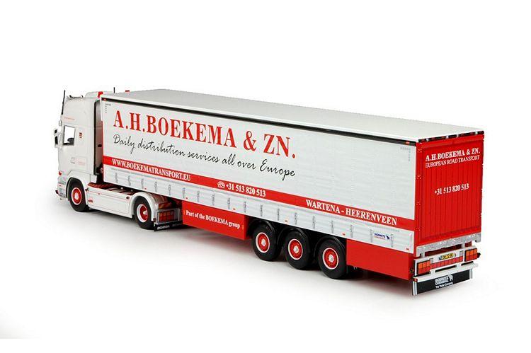 Scania R-Streamline Schiebeplanenauflieger Boekema & Zn