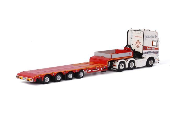 Scania R Streamline Semittieflader Andre Voβ