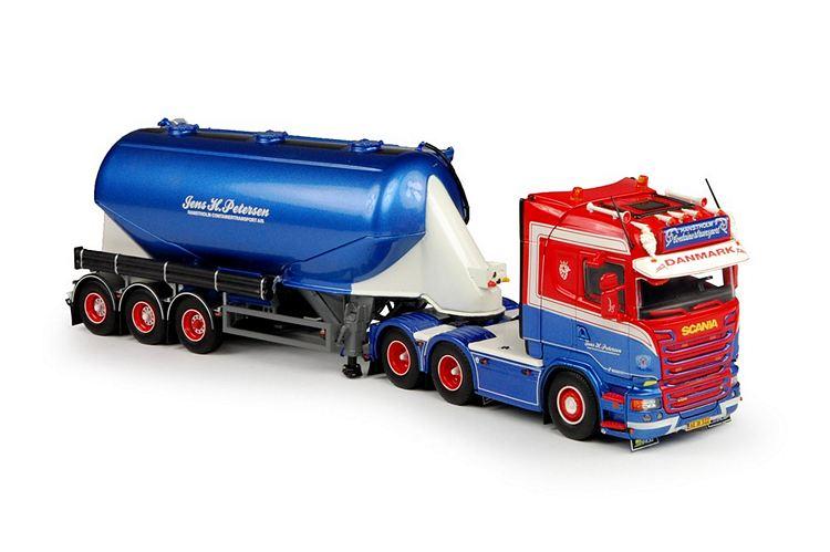 Scania R-Streamline Siloauflieger Petersen Jens