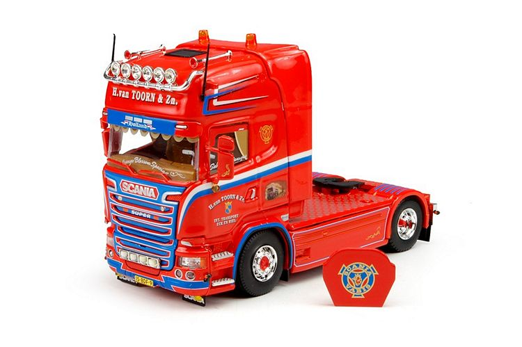 Scania R-Streamline  tank auflieger Toorn & Zn. Van