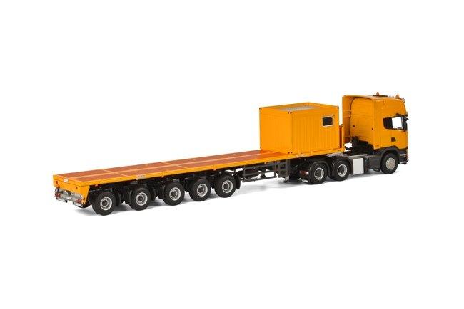 Scania R Streamline Topline 10 FT Container