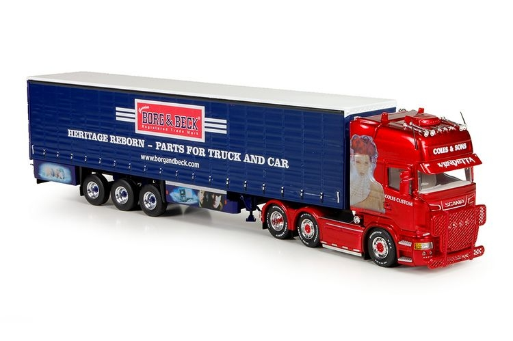 Scania R Streamline Topline Coles & Sons