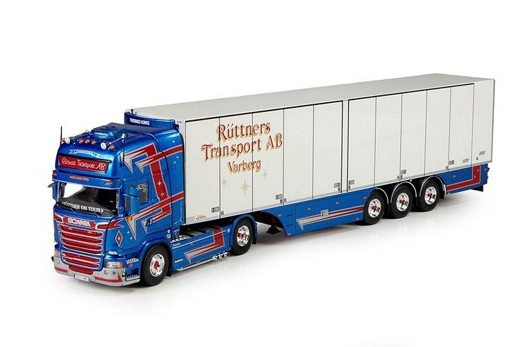 Scania R Streamline Topline Kuehlauflieger Ruttner