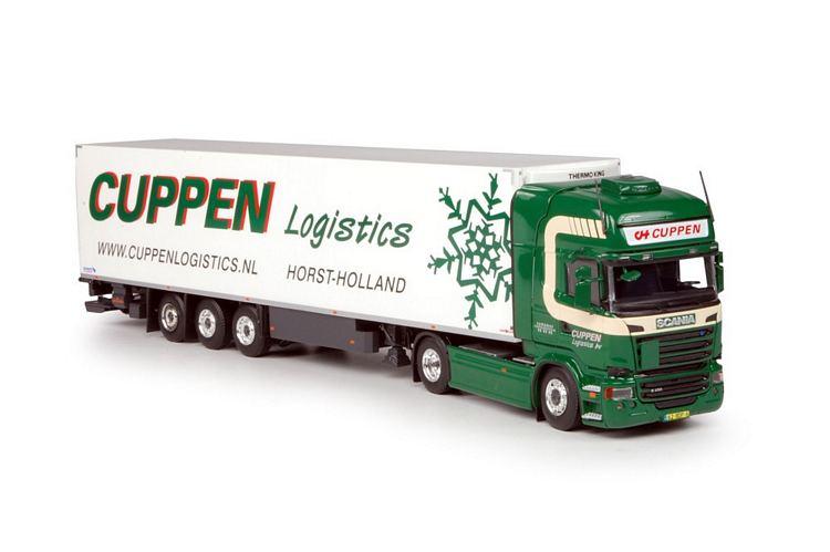 Scania R-Streamline Topline  Kuhlauflieger Cuppen