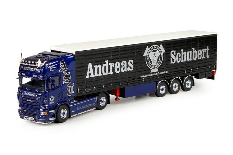 Scania R-Streamline Topline Schubert blau