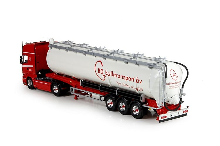 Scania R Streamline Topline  Silo trailer BD Bulktransport