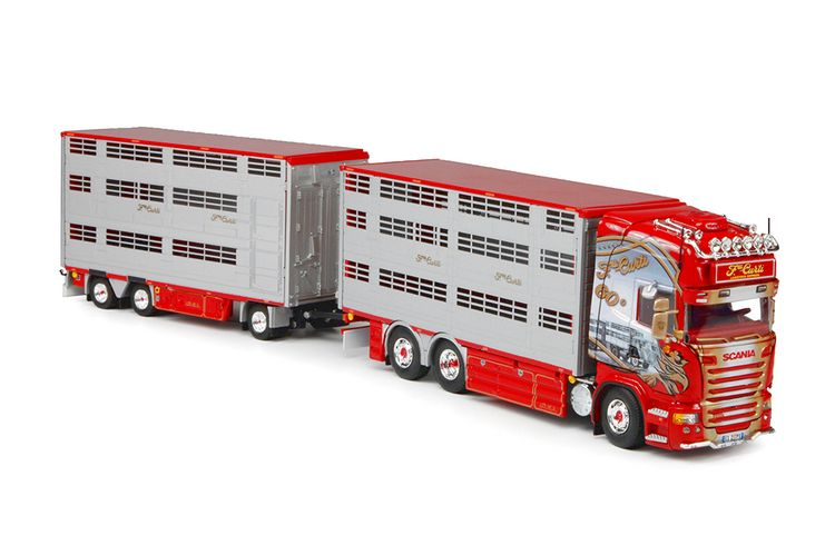 Scania R Streamline Vieh Transporter  Curti F