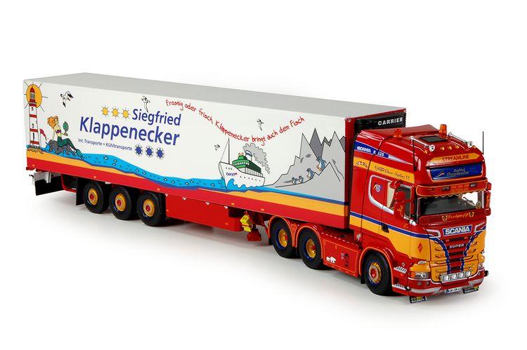 Scania R-Streamlne  Klappenecker