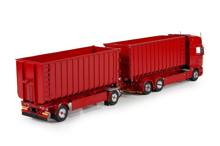 Scania R TL MW haak container anhaenger T.B.P.