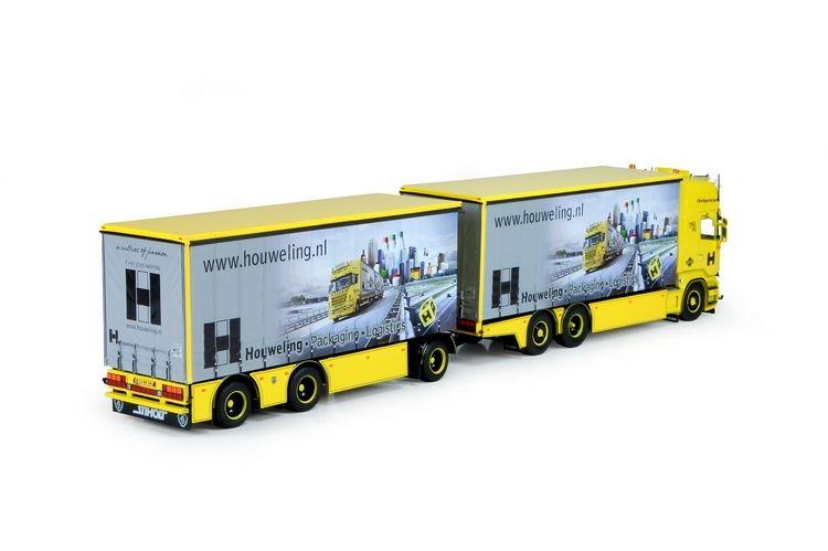 Scania R Topline  curtainside semitrailer Houweling