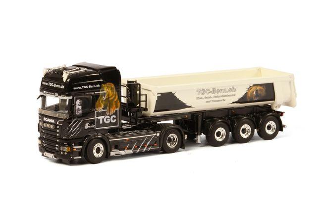 Scania R Topline Halfpipe Tipper  TGC Bern